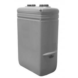 Tanque de gasoil estrecho (1000 litros) Confort gris