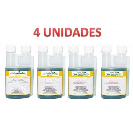 Aditivo gasoil calefacción 1 Litro (4x250ml) (IVA y Transporte incluido)
