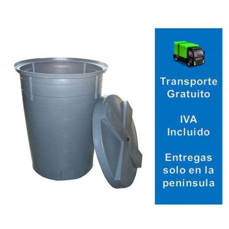 Depósito Agua 500 litros Cónico
