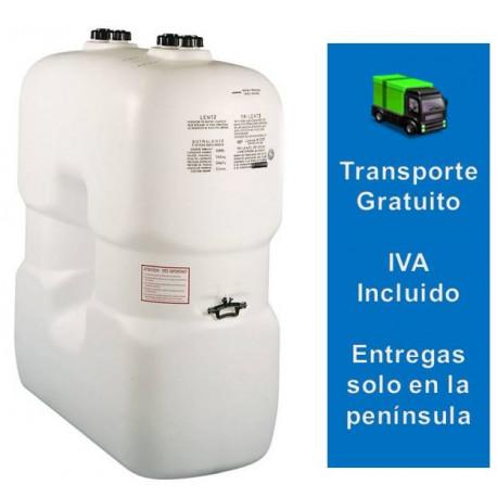 Depósito Gasóleo  1500 litros Eurolentz pared simple