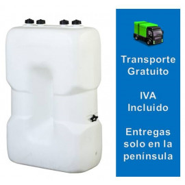 Tanque de gasoil estrecho (1000 litros) Eurolentz simple