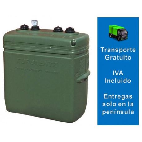 Depósito Gasoil Exterior 700 Litros  Confort Verde