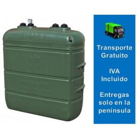 Depósito Gasoil Exterior 1500 Litros  Confort Verde