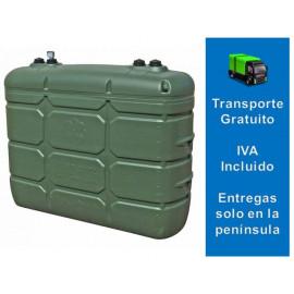Depósito Gasoil Exterior 2000 Litros  Confort Verde