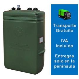 Tanque de Gasoil estrecho (1000 Litros) Confort verde