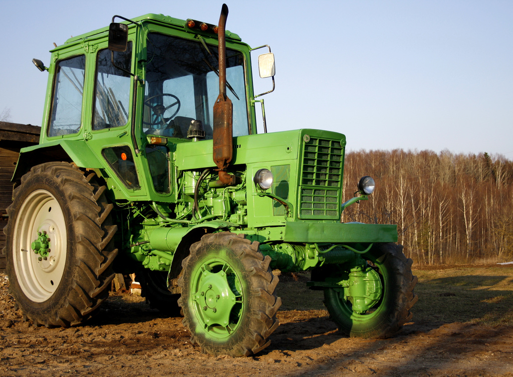 tractor gasóleo-B