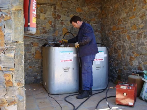 limpiar tu depósito de gasoil